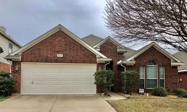 4537 Lodestone Lane, Fort Worth, TX 76123 (MLS #14270719) :: The Kimberly Davis Group