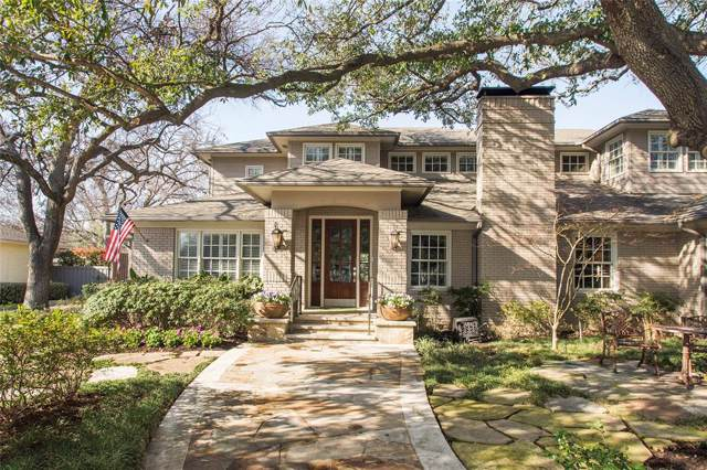 6215 Lupton, Dallas, TX 75225 (MLS #14270993) :: Robbins Real Estate Group