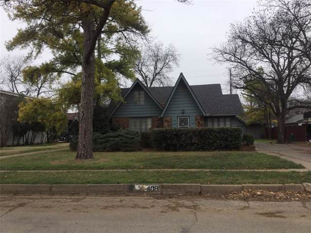 408 W Elm, Olney, TX 76374 (MLS #14271022) :: The Kimberly Davis Group