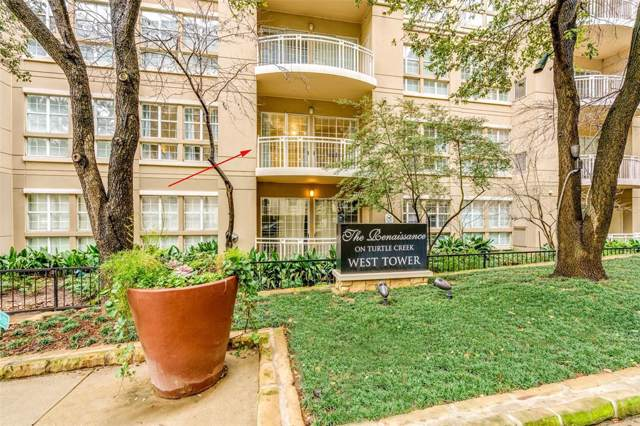 3225 Turtle Creek Boulevard #146, Dallas, TX 75219 (MLS #14271298) :: EXIT Realty Elite