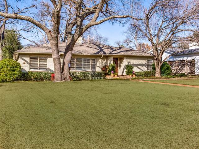 5321 Drane Drive, Dallas, TX 75209 (MLS #14271339) :: The Mitchell Group