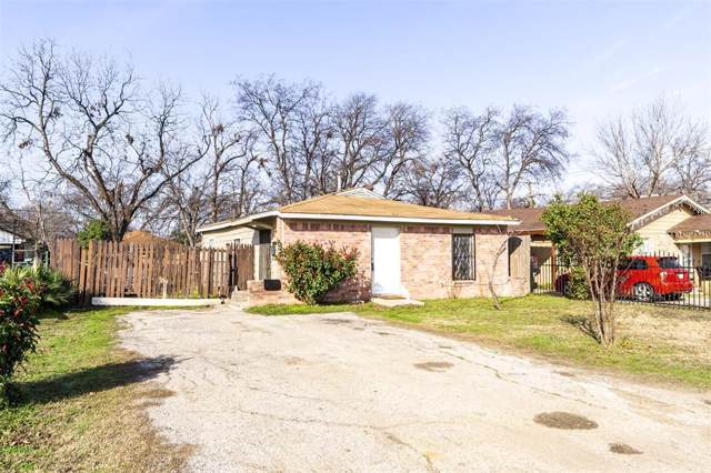 3208 6th Avenue, Fort Worth, TX 76110 (MLS #14271670) :: The Mitchell Group