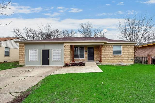 8411 Triton Lane, Dallas, TX 75227 (MLS #14271862) :: All Cities Realty
