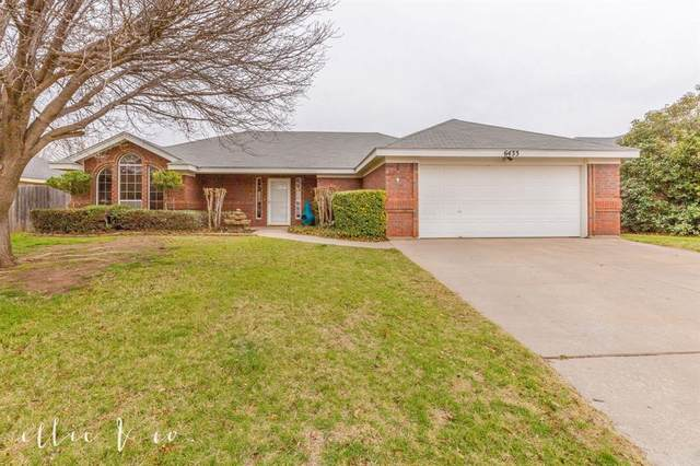 6433 Twin Oaks Drive, Abilene, TX 79606 (MLS #14273284) :: Ann Carr Real Estate