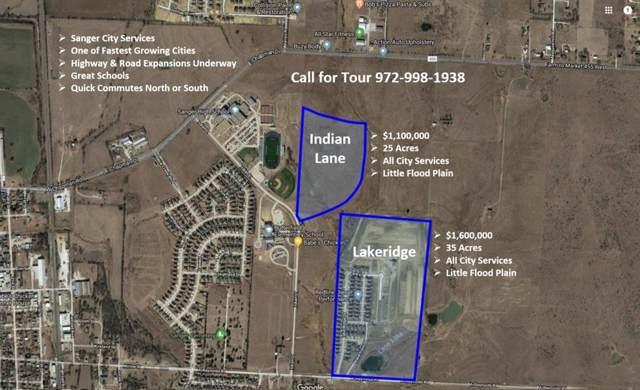 101 Indian Lane, Sanger, TX 76266 (MLS #14274026) :: Trinity Premier Properties