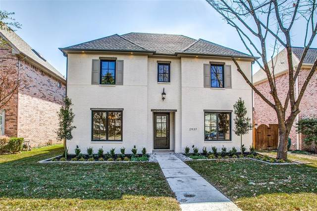 2937 Fondren Drive, University Park, TX 75205 (MLS #14274266) :: Team Tiller