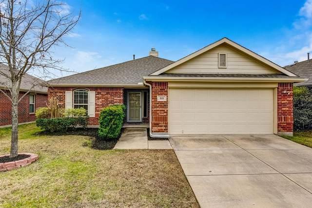 808 Hummingbird Drive, Little Elm, TX 75068 (MLS #14274480) :: Trinity Premier Properties