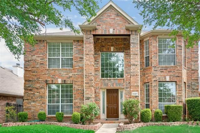 11482 Blanchard Drive, Frisco, TX 75035 (MLS #14275027) :: Frankie Arthur Real Estate