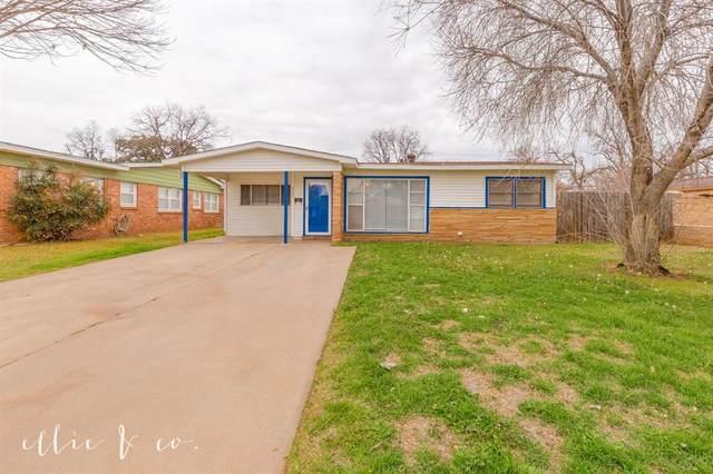 3596 N 10th Street, Abilene, TX 79603 (MLS #14275120) :: The Kimberly Davis Group