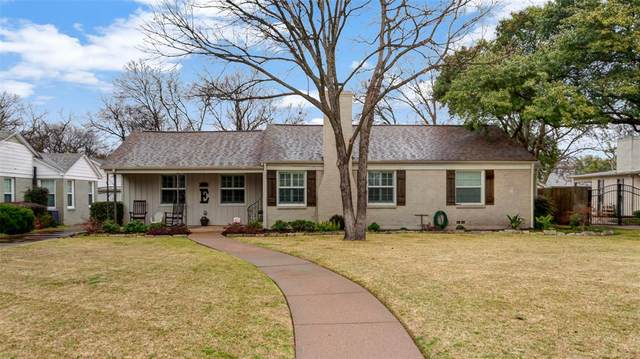 3718 S Hills Avenue, Fort Worth, TX 76109 (MLS #14275241) :: All Cities Realty