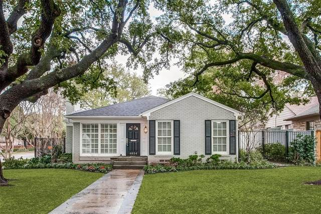 4684 Belclaire Avenue, Highland Park, TX 75209 (MLS #14275518) :: The Mauelshagen Group