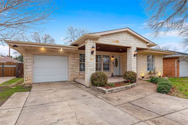 1927 Berkley Avenue, Dallas, TX 75224 (MLS #14275541) :: Ann Carr Real Estate