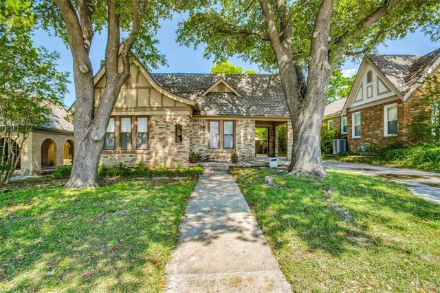 2531 S University Drive, Fort Worth, TX 76109 (MLS #14275690) :: Caine Premier Properties