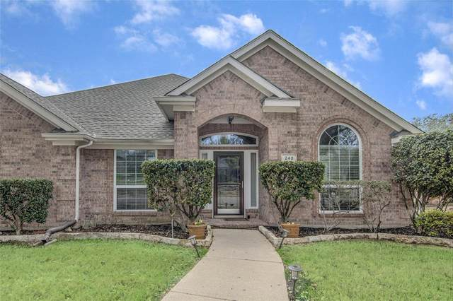 248 Ridge Haven Drive, Lewisville, TX 75067 (MLS #14275789) :: Team Tiller
