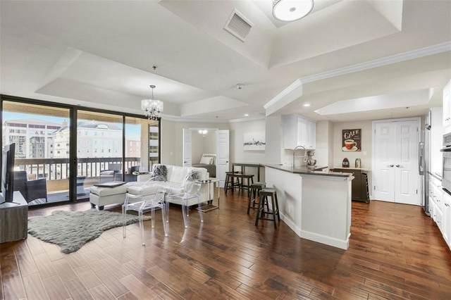 5909 Luther Lane #803, Dallas, TX 75225 (MLS #14275937) :: Caine Premier Properties