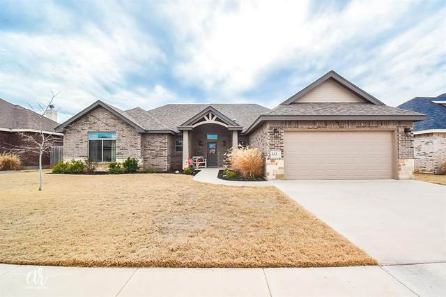 333 Eagle Mountain Drive, Abilene, TX 79602 (MLS #14275967) :: The Tierny Jordan Network