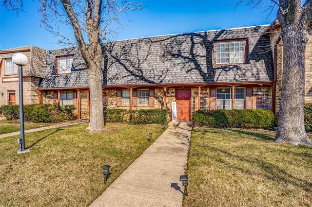 1821 E Grauwyler Road #183, Irving, TX 75061 (MLS #14276227) :: The Kimberly Davis Group