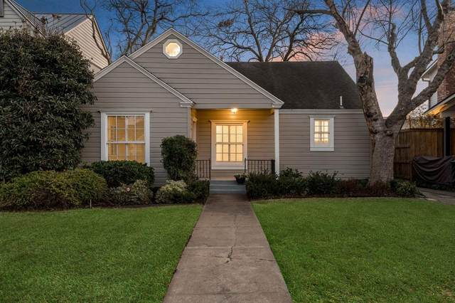 5110 W Amherst Avenue, Dallas, TX 75209 (MLS #14276237) :: Frankie Arthur Real Estate