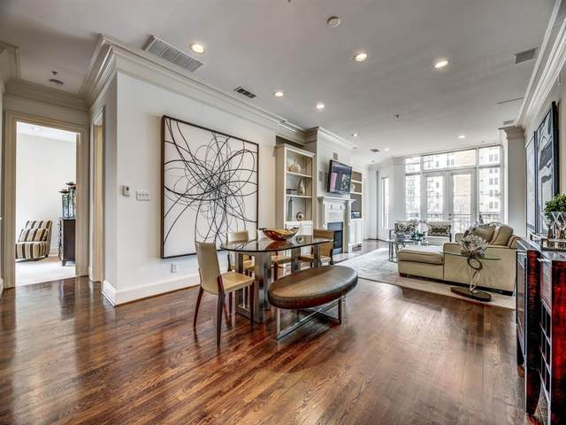 3535 Gillespie Street #306, Dallas, TX 75219 (MLS #14276379) :: Hargrove Realty Group