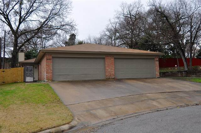 2105 Mistletoe Avenue, Fort Worth, TX 76110 (MLS #14276766) :: Ann Carr Real Estate