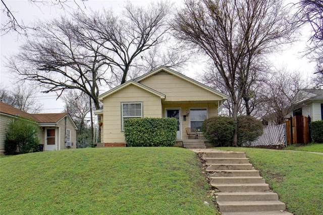 4808 Birchman Avenue, Fort Worth, TX 76107 (MLS #14276808) :: Caine Premier Properties