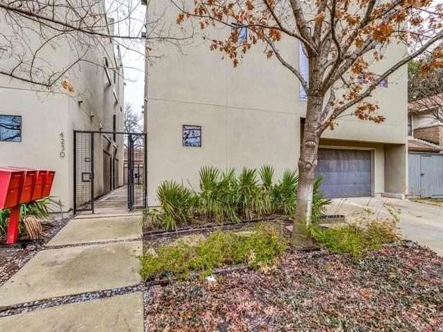 4230 Munger Avenue C, Dallas, TX 75204 (MLS #14276869) :: RE/MAX Pinnacle Group REALTORS