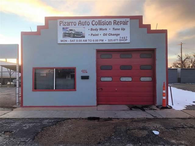 914 Pine Street, Abilene, TX 79601 (MLS #14276874) :: The Mauelshagen Group