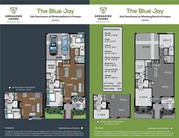 3740 Dalea Drive, Prosper, TX 75078 (MLS #14276968) :: Real Estate By Design