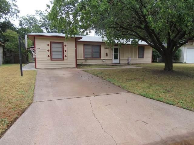 1181 Yorktown Drive, Abilene, TX 79603 (MLS #14277200) :: The Kimberly Davis Group
