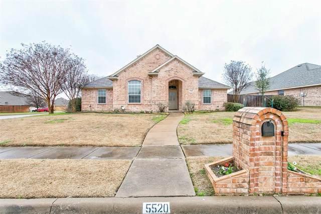 5520 Pico Lane, Benbrook, TX 76126 (MLS #14277231) :: Tenesha Lusk Realty Group