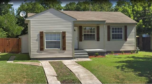 1822 Rosewood Street, Grand Prairie, TX 75050 (MLS #14278186) :: Century 21 Judge Fite Company