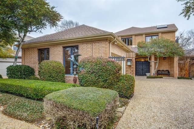 11908 Forest Lakes Lane, Dallas, TX 75230 (MLS #14278271) :: Ann Carr Real Estate