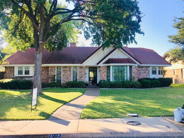 7003 Duffield Drive, Dallas, TX 75248 (MLS #14278340) :: Trinity Premier Properties