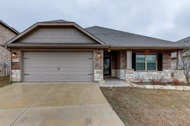 5912 Dunnlevy Drive, Fort Worth, TX 76179 (MLS #14278434) :: The Kimberly Davis Group