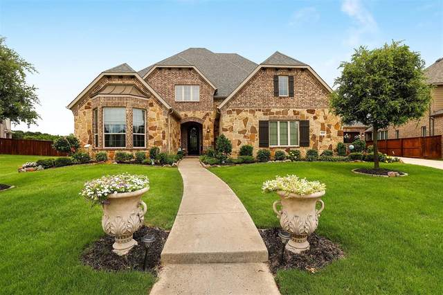 808 Kimbro Avenue, Argyle, TX 76226 (MLS #14278831) :: The Good Home Team