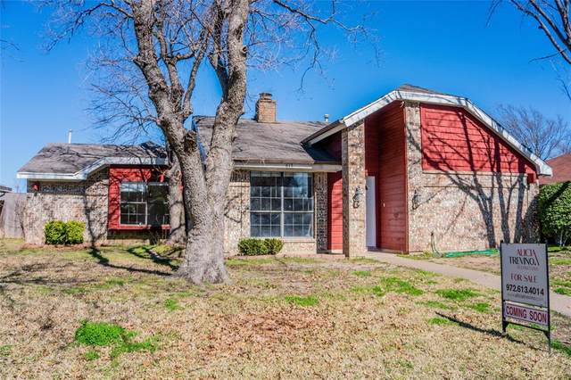 613 Fieldwood Drive, Mesquite, TX 75150 (MLS #14278975) :: The Chad Smith Team