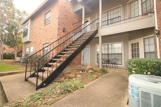 400 Pebble Way #161, Arlington, TX 76006 (MLS #14279140) :: Team Tiller