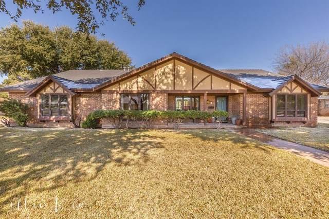 230 Hedges Road, Abilene, TX 79605 (MLS #14279411) :: The Kimberly Davis Group