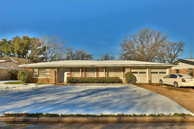 1434 Rosewood Drive, Abilene, TX 79603 (MLS #14279433) :: The Good Home Team