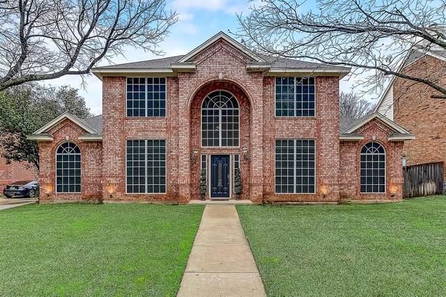 1416 Creekside Drive, Mansfield, TX 76063 (MLS #14279670) :: The Tierny Jordan Network