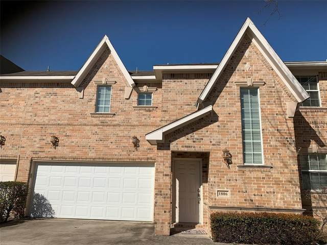 706 S Jupiter Road #1806, Allen, TX 75002 (MLS #14279702) :: Keller Williams Realty