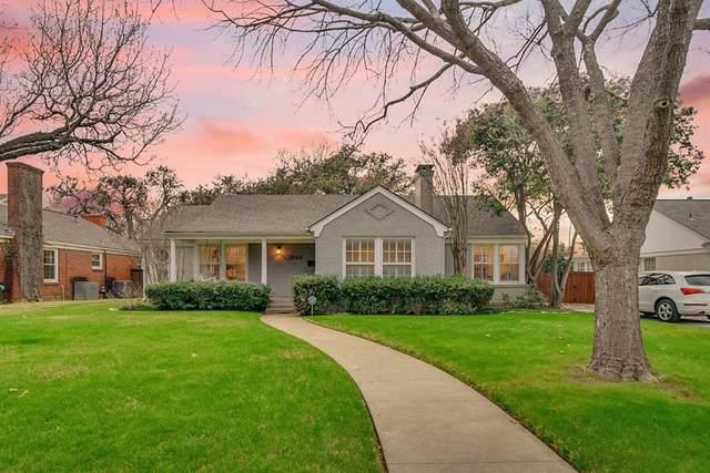 3544 Harwen Terrace, Fort Worth, TX 76109 (MLS #14279849) :: EXIT Realty Elite