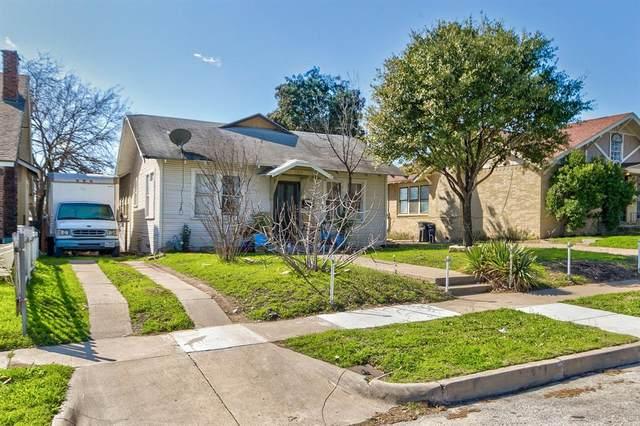 1315 Grand Avenue, Fort Worth, TX 76164 (MLS #14279987) :: RE/MAX Pinnacle Group REALTORS