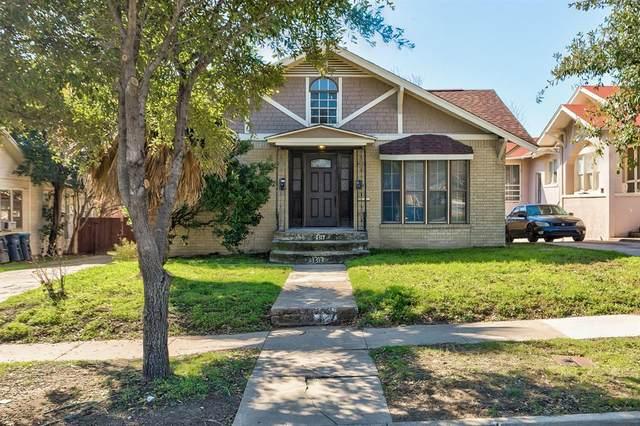1317 Grand Avenue, Fort Worth, TX 76164 (MLS #14279997) :: RE/MAX Pinnacle Group REALTORS