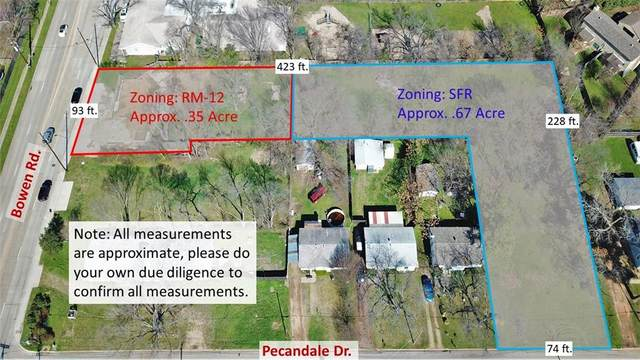 519 S Bowen Road, Arlington, TX 76013 (MLS #14280185) :: Robbins Real Estate Group