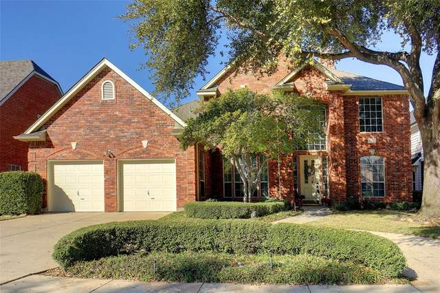 805 Spring Canyon Drive, Irving, TX 75063 (MLS #14280345) :: All Cities Realty