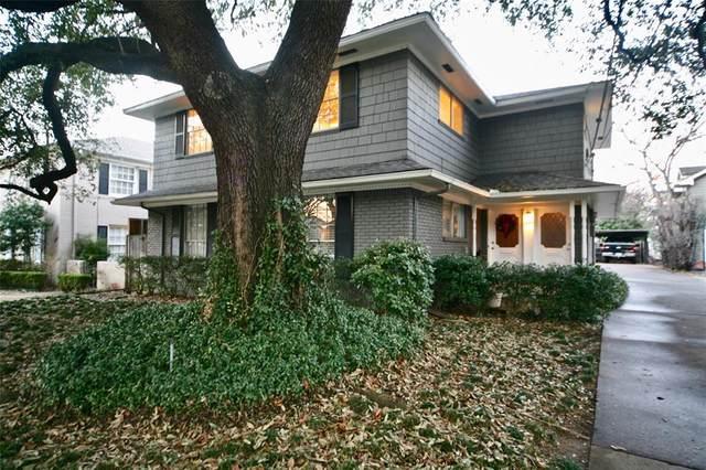 3609 Springbrook, Dallas, TX 75205 (MLS #14280484) :: Caine Premier Properties
