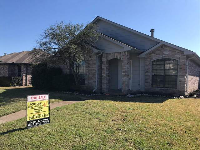 1434 Sandalwood Drive, Mesquite, TX 75181 (MLS #14281153) :: Real Estate By Design