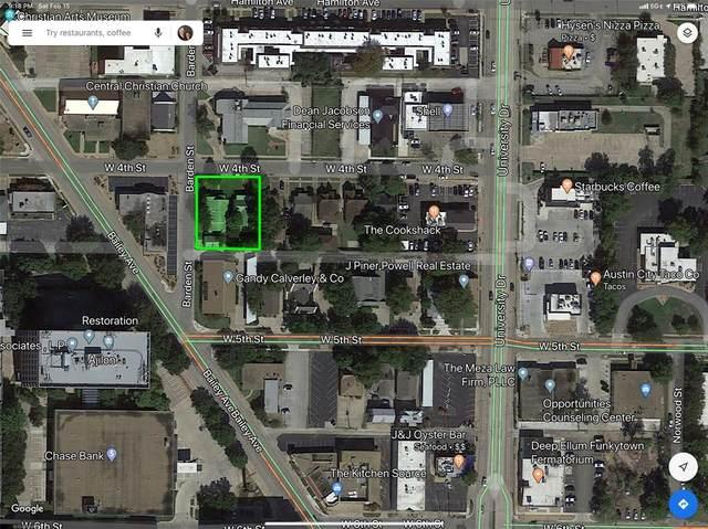 3133 & 3135 W 4th Street, Fort Worth, TX 76107 (MLS #14281266) :: Team Tiller