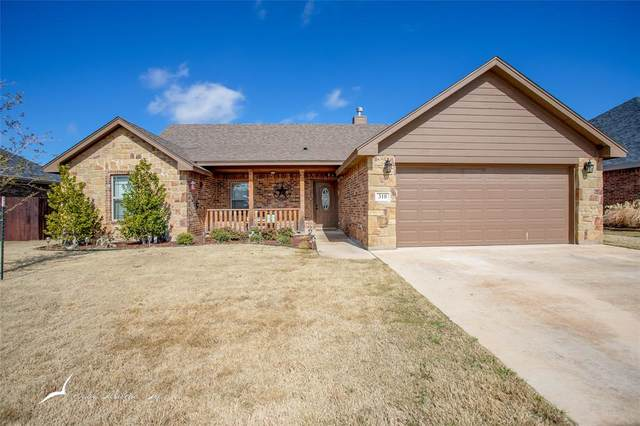 310 Eagle Mountain Drive, Abilene, TX 79602 (MLS #14281341) :: The Tierny Jordan Network